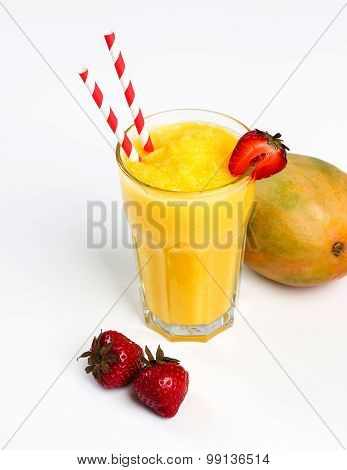 Drink. Delicious smoothie on the table