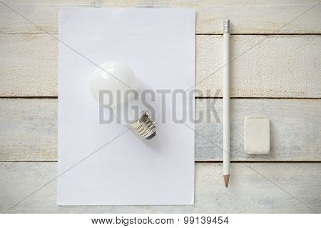 Inspirational image representing the simplicity of a good idea
