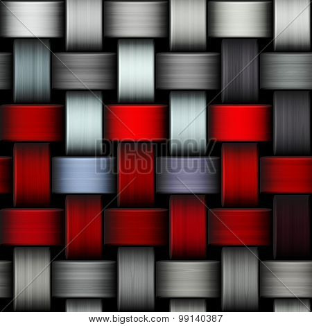 Intertwined Abstract Background