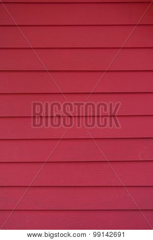 Red Wood Plank Background