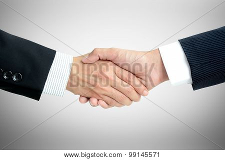 Handshake Of Businessmen - Success, Dealing, Greeting & Business Partner Concepts