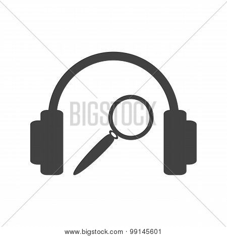 Music search sign