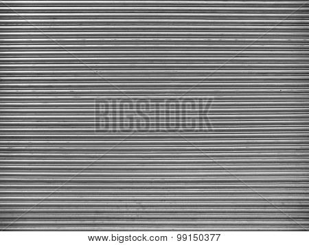 Roller Urban Security Door - Stock Image