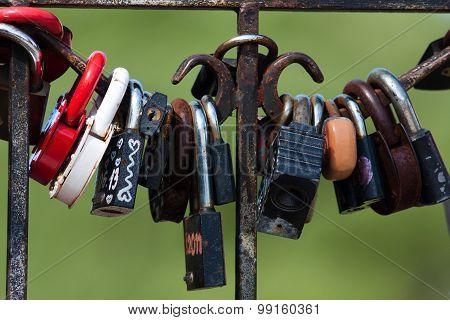 Locks On The Fence