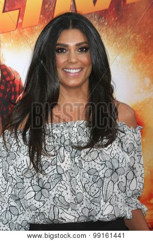 LOS ANGELES - AUG 18:  Rachel Roy at the