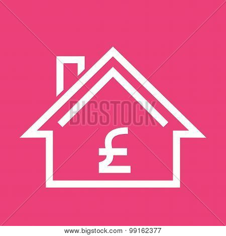 House with pound sign