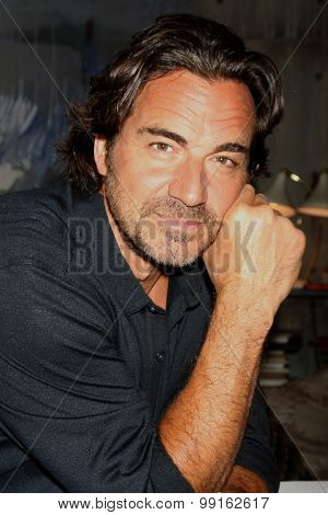 LOS ANGELES - AUG 14:  Thorsten Kaye at the Bold and Beautiful Fan Event Friday at the CBS Television City on August 14, 2015 in Los Angeles, CA