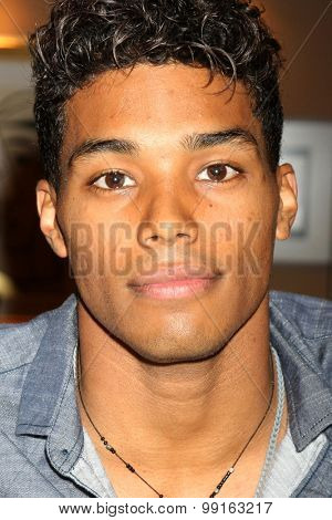 LOS ANGELES - AUG 14:  Rome Flynn at the Bold and Beautiful Fan Event Friday at the CBS Television City on August 14, 2015 in Los Angeles, CA