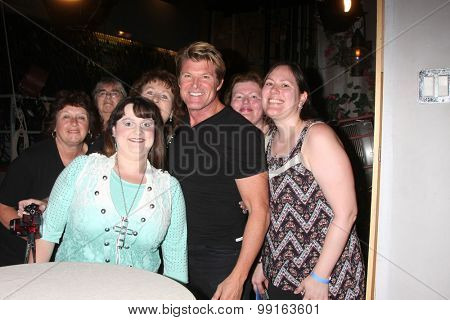 LOS ANGELES - AUG 14:  Winsor Harmon, fans at the Bold and Beautiful Fan Event Friday at the CBS Television City on August 14, 2015 in Los Angeles, CA