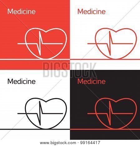 Medicine icon, logo, concept
