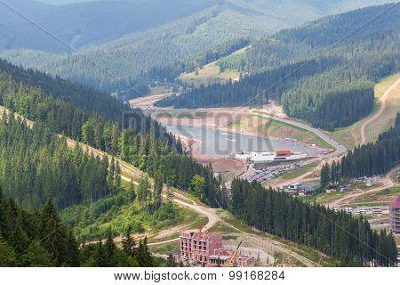 Landscape Bukovel Ski Resort