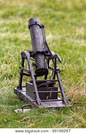 Depth-charge Mortar