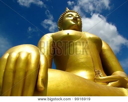 Big Buddha At Angthong, Thailand