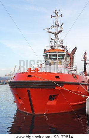 Red Tugboat