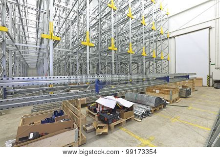 Shelving System Construction