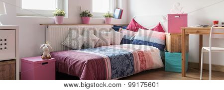 Girlish Sleeping Area