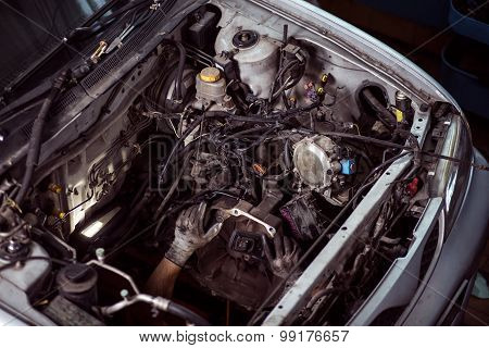 Under The Hood Of Car