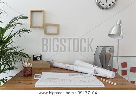 Workspace Of Creative Designer