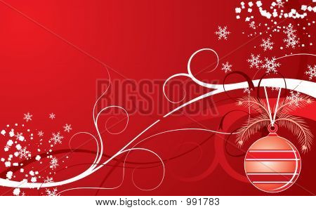 Christmas Background, Vector