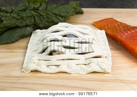 Salmon en crute