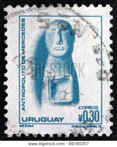 Postage Stamp Uruguay 1976 Figurine