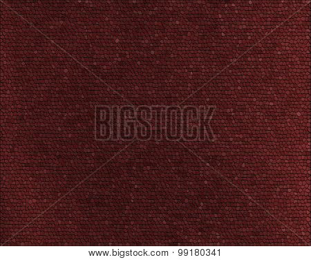 Reddish-Brown Mosaic Tile Background