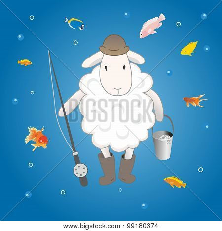 lamb fishing