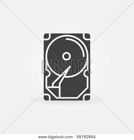 HDD icon or logo