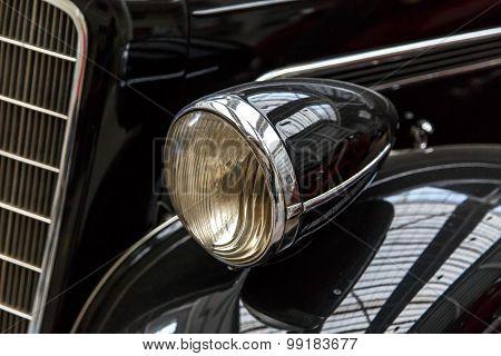 Detailed Nostalgic Automobile