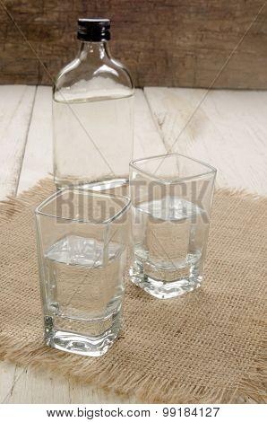 Gin In A Shot Glass