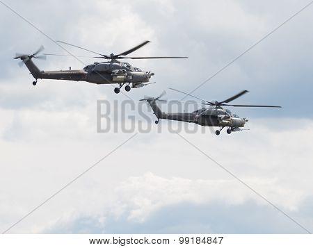 Two Mi-28