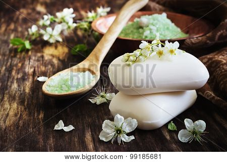 Aromatic Soap And Salt