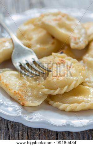 Fried Dumplings.