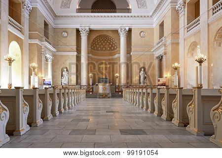 Christiansborg Castle Church, Denmark