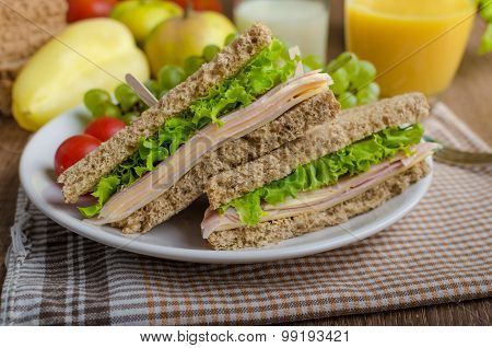 Back To School Sandwich