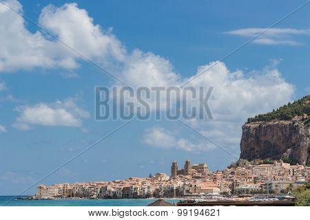City Of Cefalu, Sicily, Italy