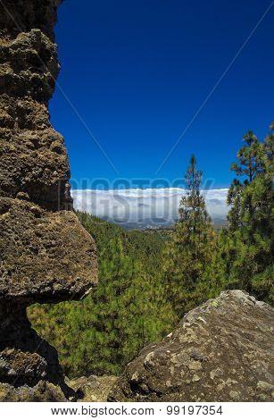Inland Gran Canaria, Panza De Burro Cloud Cover