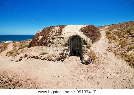 World war II bunker in Tenerife was built against a possible attack during the second world war