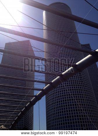 Azrieli Skyscrapers Center