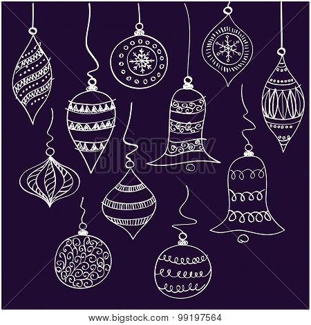 Christmas white bells