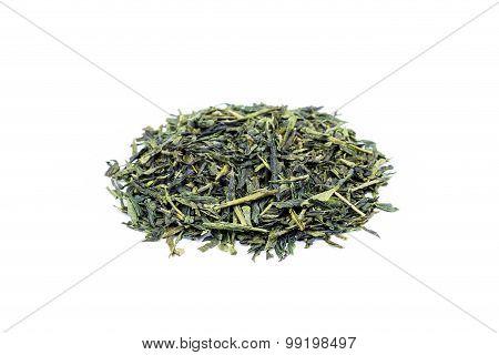 Heap Of Loose Green Tea Sencha