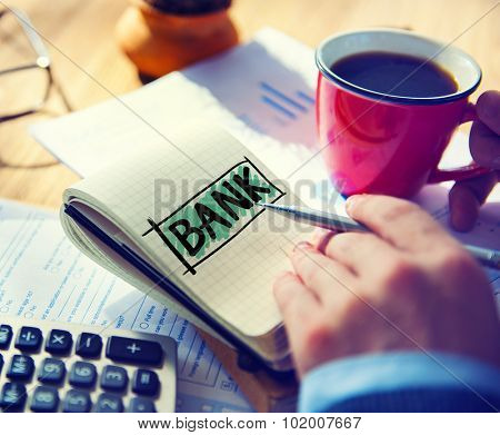 Bank Accounting Economy Finance Currency Concept