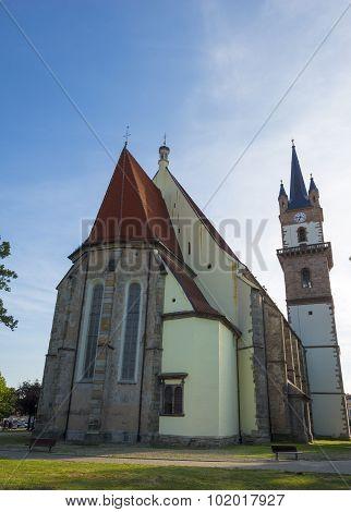 Gothic Church In Sighisoara, Transylvania