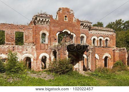 Manor Wrangel. Torosovo, Leningrad region. Russia.