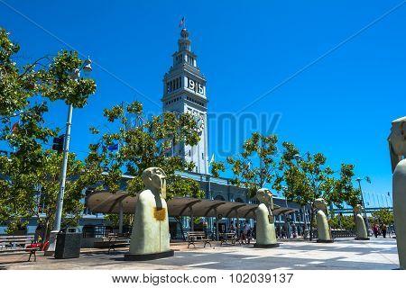 Sculptures in San Francisco, California