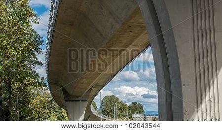 Under The Light Rail Track 2