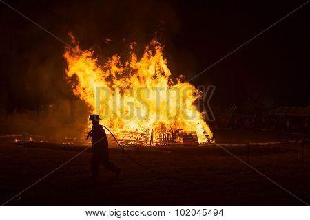 Firefighter Bonfire
