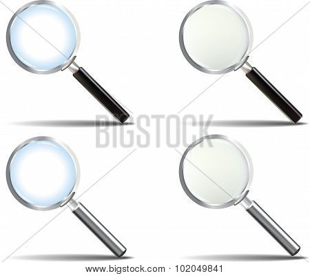 Realistic Magnifying Glass Set