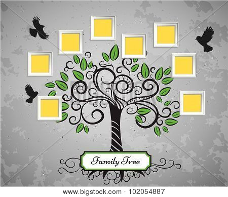 Memories vector tree