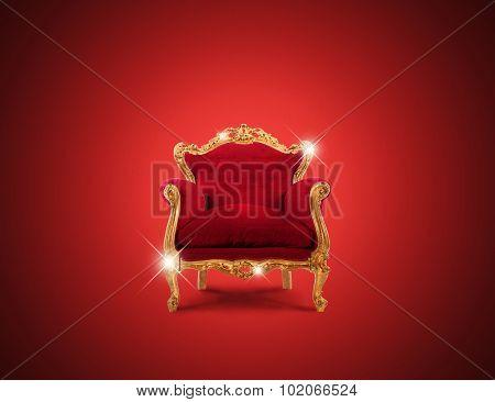 Luxury armchair